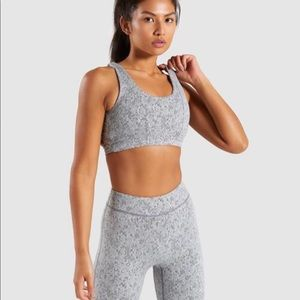 Gymshark Other - Gym shark fleur texture sports bra